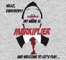 Markiplier intro Kids Clothes
