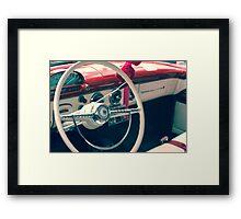 Vintage Classic Antique Car Framed Print