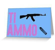 Ti ammo Greeting Card