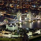 London at Night by Stuart Robertson Reynolds