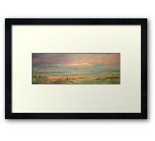 Pink Blakeney Norfolk,UK Framed Print