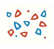 Togepi pattern Art Print