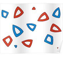 Togepi pattern Poster