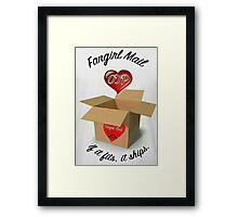 Fangirl Mail Framed Print