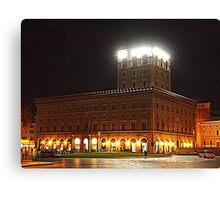 Palazzo Venezia at night Canvas Print