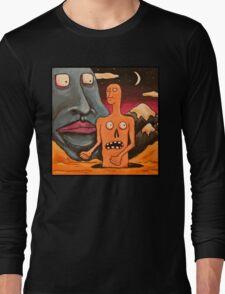 on tha moon Long Sleeve T-Shirt