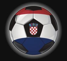 Croatia - Croatian Flag - Football or Soccer by graphix