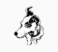 Jumpin' Jack Russell Graphic ~black and white Unisex T-Shirt