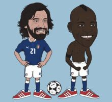 Pirlo and Mario by carterscasuals
