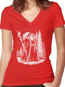 Saint Nicholas Women's Fitted V-Neck T-Shirt