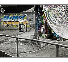 The skate park by Tim Constable
