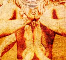 Yoga by Shiva Sticker