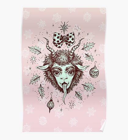 Merry Krampus!  Poster