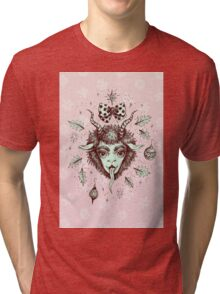Merry Krampus!  Tri-blend T-Shirt