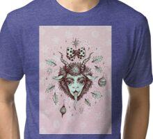 Merry Krampus!  Tri-blend T-Shirt