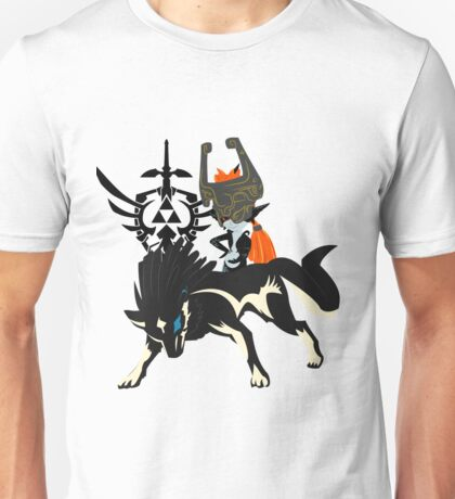 Wolf Link - Twillight Princess Unisex T-Shirt