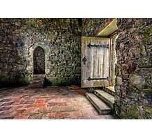 The Door to Rodel Church Photographic Print