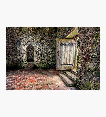 The Door to Rodel Church Photographic Print