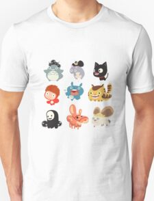 all character studio ghibli T-Shirt