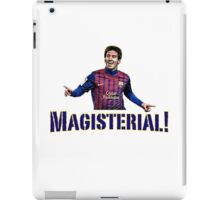 Magisterial! iPad Case/Skin