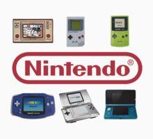 Nintendo Portables by Ravravine