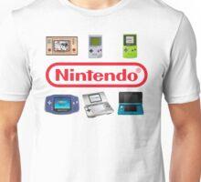 Nintendo Portables Unisex T-Shirt