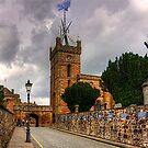 Looking up the Kirkgate by Tom Gomez