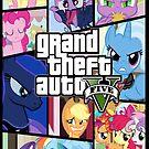 GTA V: Pony edition by PinkiexDash