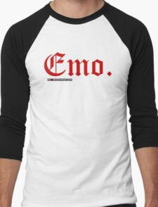 Emo. Men's Baseball ¾ T-Shirt