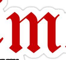 Emo. Sticker