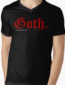 Goth. Mens V-Neck T-Shirt