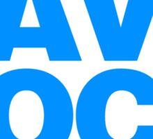 Save Rock Sticker