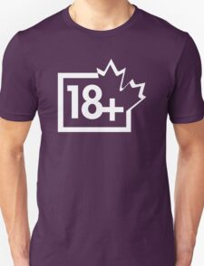 TV 18+ (Canada) white T-Shirt