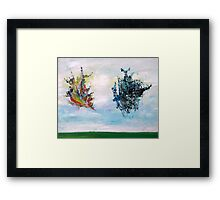 UNIDENTIFIED FLYING OBJECTS Framed Print
