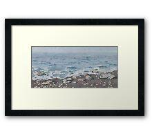 Adriatic Sea Shore Framed Print