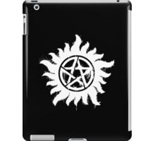 Anti-Possession Symbol Light (Splatter) iPad Case/Skin