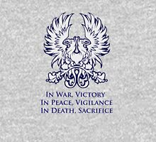 In War, Victory (blue) Unisex T-Shirt
