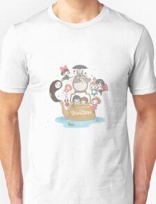 love it ghibli studio Unisex T-Shirt