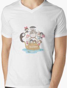love it ghibli studio Mens V-Neck T-Shirt