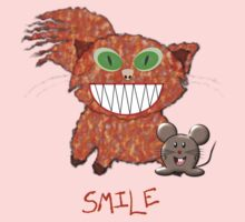 Cat and Mouse - SMILE T-shirt Baby Tee