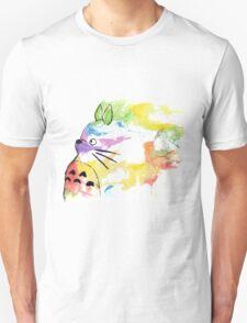rainbow painting totoro T-Shirt