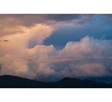 Santa Fe Sky 1 Photographic Print