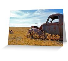 Prairie Rust Greeting Card