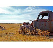 Prairie Rust Photographic Print