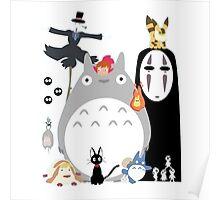 Studio Ghibli Gang Poster