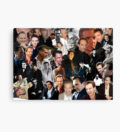 A Fiennes Collage Canvas Print
