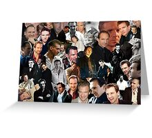 A Fiennes Collage Greeting Card