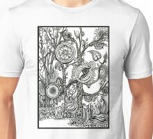 The Rainforest, Ink Tree Drawing Unisex T-Shirt