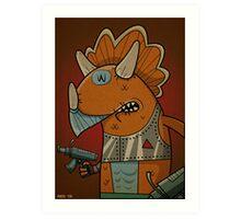 Triceraton Art Print