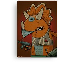 Triceraton Canvas Print